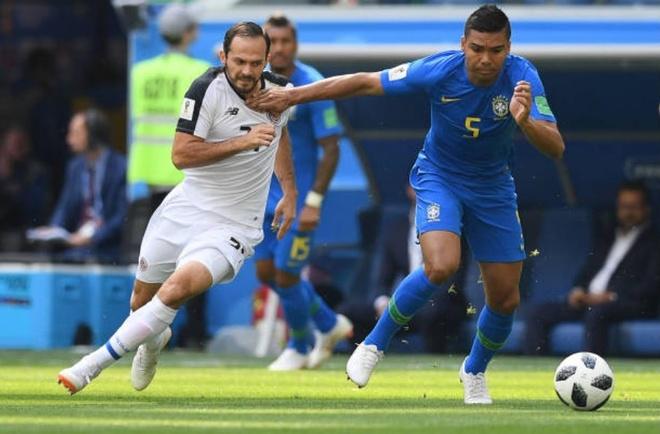 Cham diem Costa Rica 2-0 Brazil: Ngay tuyet voi cua song sat Neymar,  Coutinho anh 6