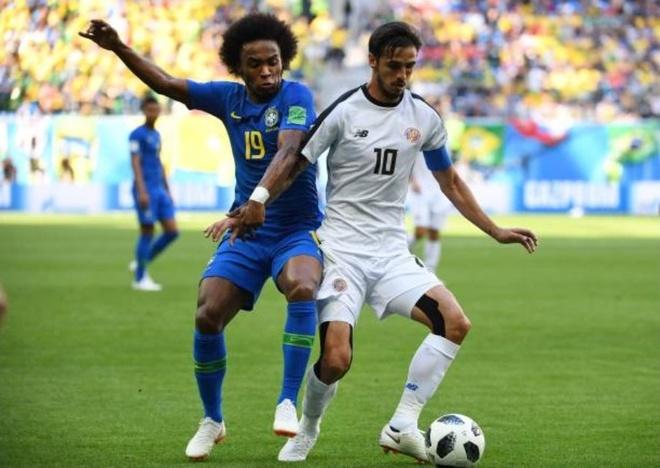 Cham diem Costa Rica 2-0 Brazil: Ngay tuyet voi cua song sat Neymar,  Coutinho anh 9