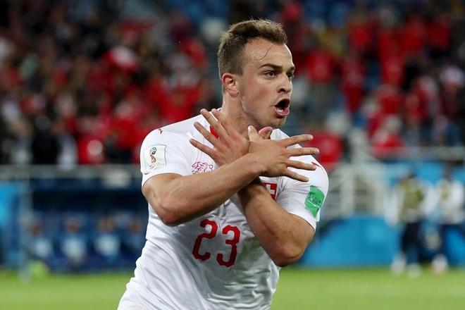 LDBD Serbia yeu cau FIFA cam Xhaka,  Shaqiri thi dau o World Cup anh 2