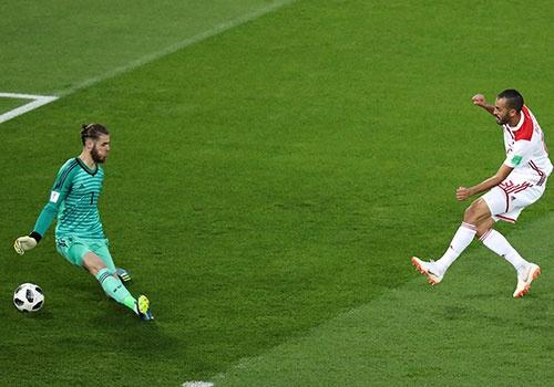 World Cup ngay 30/6: Jose Mourinho len tieng bao ve De Gea hinh anh