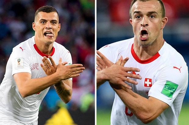 LDBD Serbia yeu cau FIFA cam Xhaka,  Shaqiri thi dau o World Cup anh 1