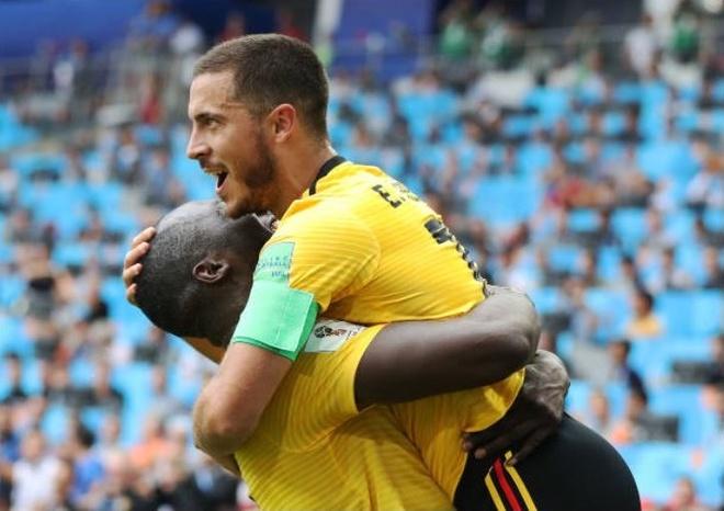 Cham diem Bi 5-2 Tunisia: Dang cap Lukaku, Hazard hinh anh