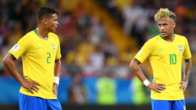 Neymar tuc gian, nguyen rua dan anh Thiago Silva? hinh anh