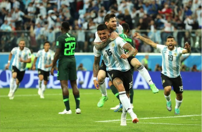 Cham diem Argentina 2-1 Nigeria: Diem 9 cho Lionel Messi hinh anh 3
