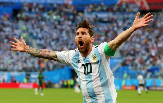 BLV Quang Huy: 'Co Lionel Messi, Argentina hay cu hy vong truoc Phap' hinh anh