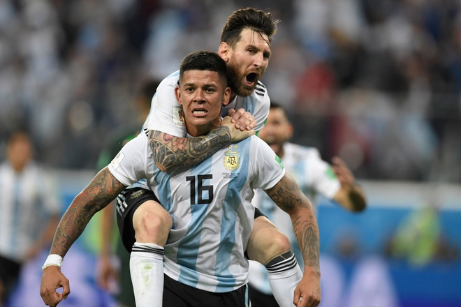 Rojo tiet lo 'than chu' cua Messi giup Argentina gianh chien thang hinh anh 1