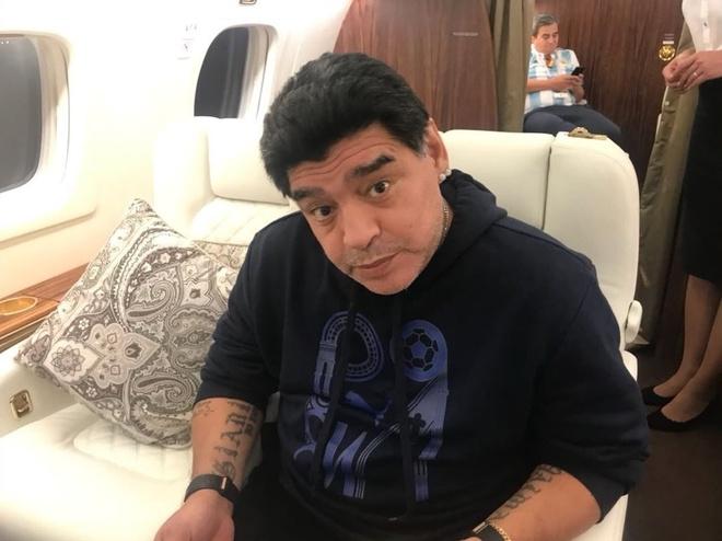 Huyen thoai Maradona bat chap suc khoe vi Argentina hinh anh 1