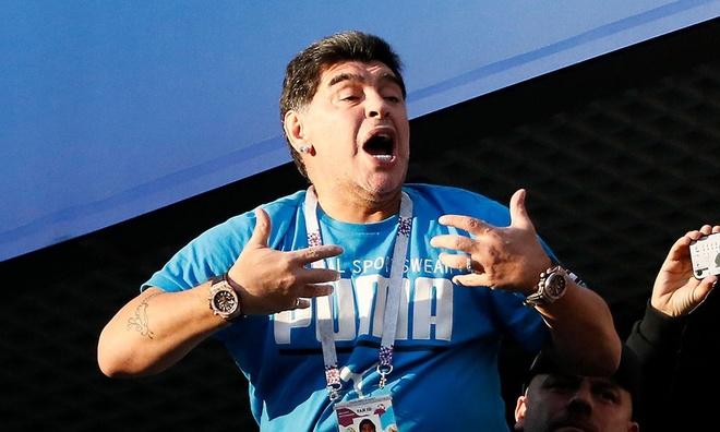 Chi 8.000 bang Anh, Maradona quyet truy tim ke loan tin minh da chet hinh anh 1