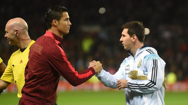 Tuyen thu Van Quyet: 'Hy vong Ronaldo va Messi gap nhau o tu ket' hinh anh