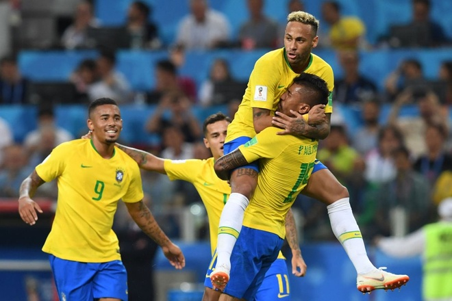 Brazil nhan tin cuc vui truoc tran gap doi tuyen Bi anh 2