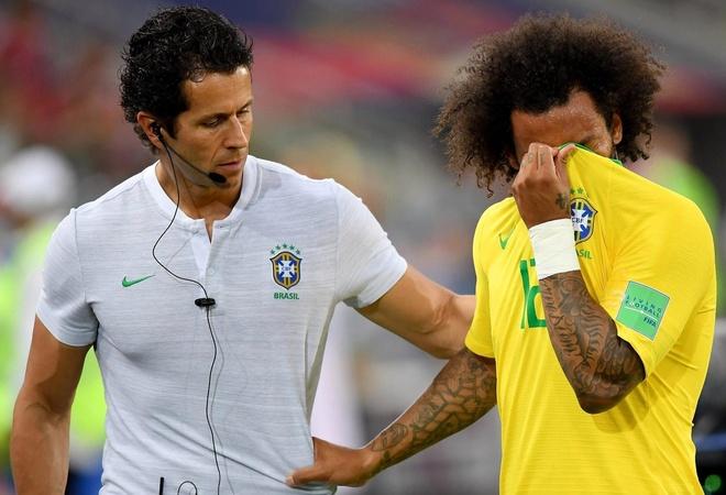 Brazil nhan tin cuc vui truoc tran gap doi tuyen Bi anh 1
