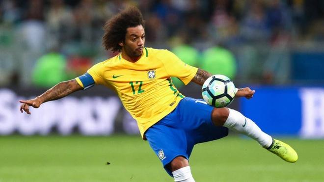 Marcelo tro lai, Brazil san sang nghenh chien cung doi Bi hinh anh