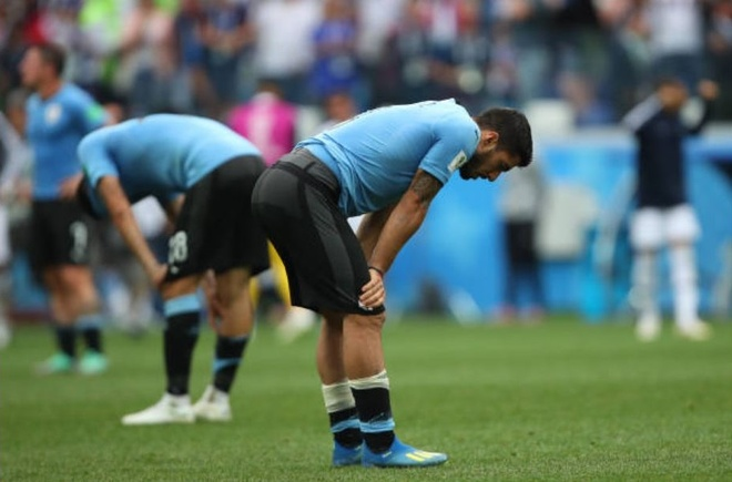 Luis Suarez roi le trong ngay Uruguay chia tay World Cup 2018 anh 7