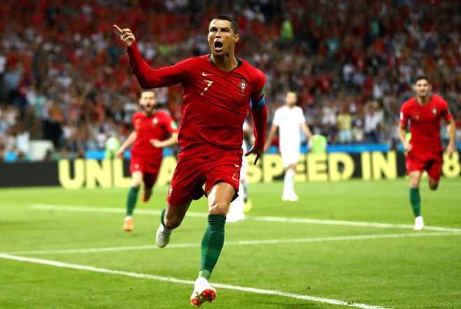 Cristiano Ronaldo, Ante Rebic but toc nhanh nhat o World Cup 2018 hinh anh