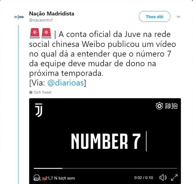 Cristiano Ronaldo se la so 7 tiep theo cua Juventus? hinh anh 1