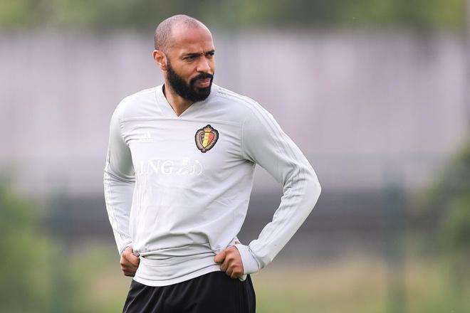 'Thierry Henry se hoi han vi lam viec cho doi Bi' hinh anh