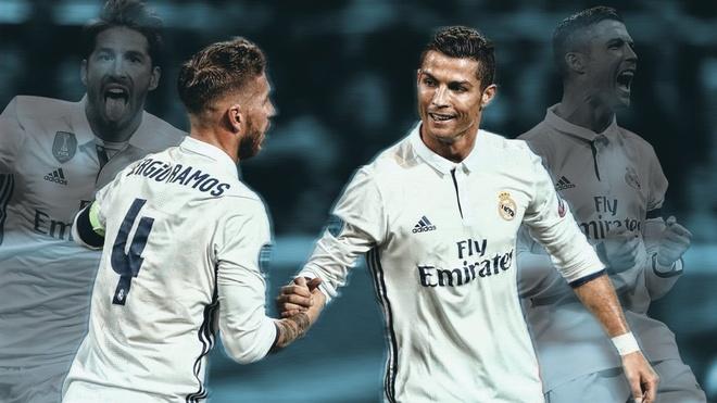 Sergio Ramos gui loi tri an den Cristiano Ronaldo hinh anh