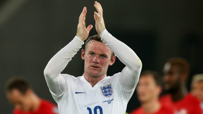 Wayne Rooney ca ngoi doi Anh truoc tran danh lon hinh anh