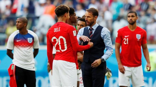 Harry Kane va dong doi buon ba chia tay World Cup 2018 hinh anh 6