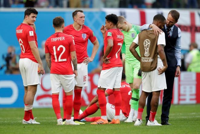 Harry Kane va dong doi buon ba chia tay World Cup 2018 hinh anh 8