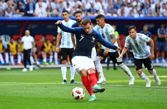 Griezmann khong du can dam de sut panenka nhu Zidane hinh anh