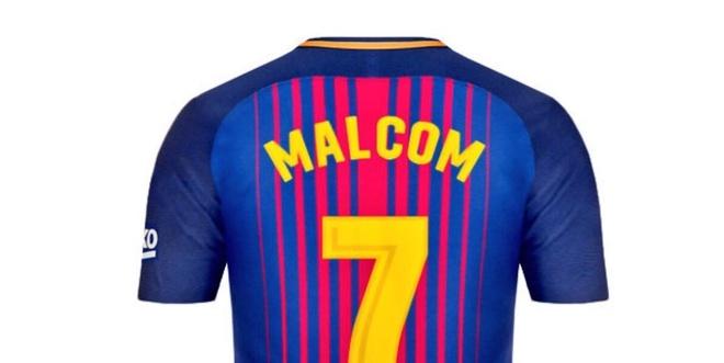 Sao tre Malcom mac ao so 7 o Barcelona? hinh anh