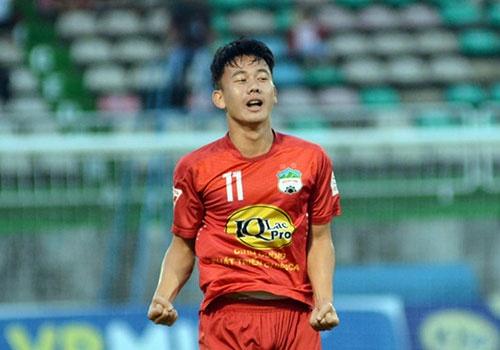 Cong Phuong danh got chuyen cho Minh Vuong ghi ban dep tren san tap hinh anh