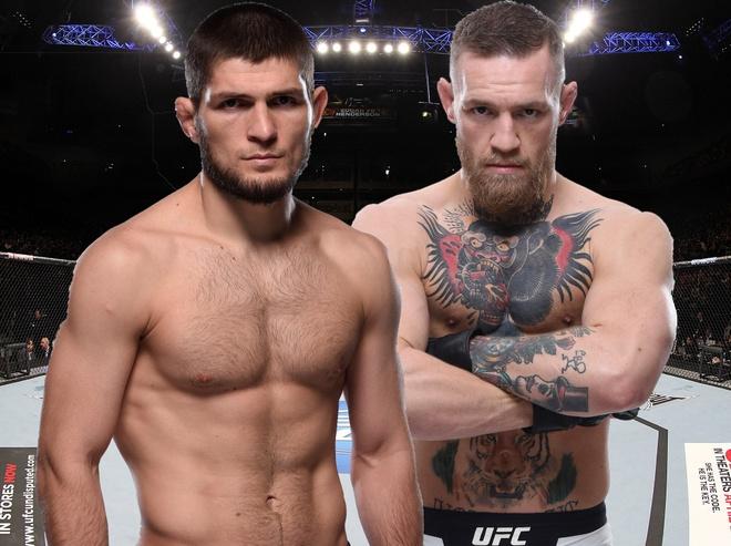 McGregor dai chien Khabib – tran dau UFC duoc ca the gioi trong cho anh 2