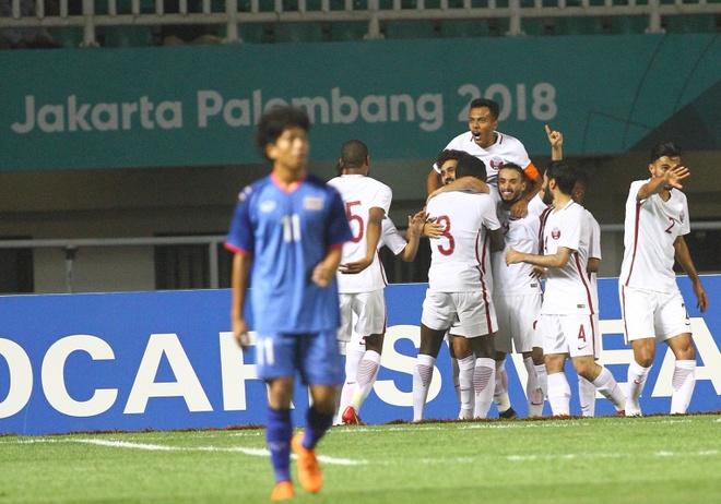 Olympic Thai Lan thoat hiem nho ban thang o phut 90+1 hinh anh 1
