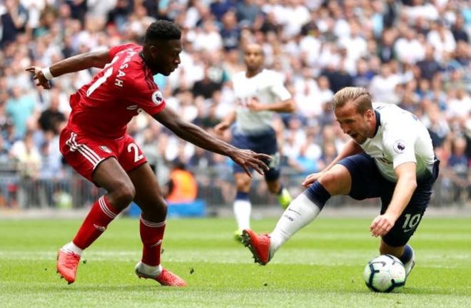 Harry Kane khai nong,  Tottenham de dang de bep Ful anh 4