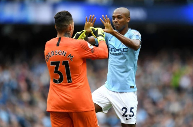 Cham diem Man City 6-1 Huddersfield: Dem thang hoa cua Aguero, Jesus hinh anh 6