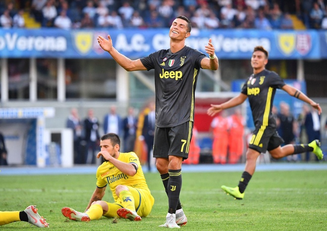 'Cristiano Ronaldo khong the mot minh vo dich Serie A' hinh anh 1