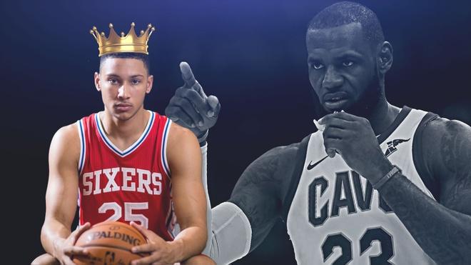 Ben Simmons - nha vua ke vi LeBron James o NBA hinh anh