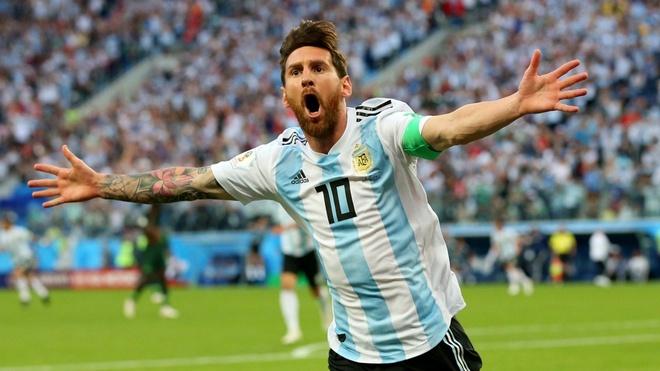 Messi chua tro lai, khong ai duoc dong den ao so 10 o Argentina hinh anh 1