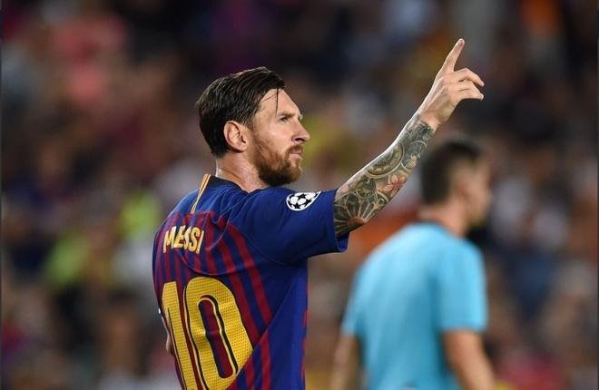 Vuot Ronaldo, Messi la vua hat-trick o Champions League hinh anh