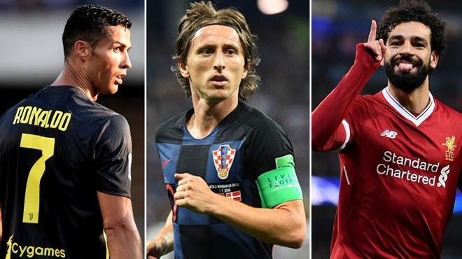 Gianh The Best, Modric chuc Ronaldo va Salah may man hinh anh