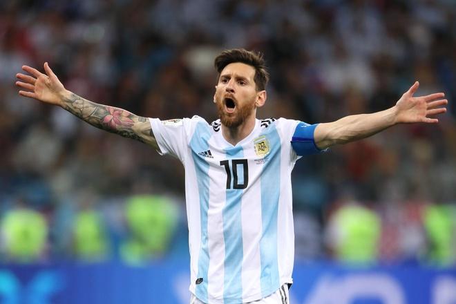 Messi, Aguero tiep tuc vang mat o tuyen Argentina hinh anh