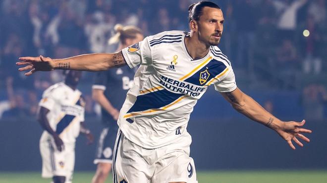 Ibrahimovic ghi ban dep mat o giai MLS hinh anh