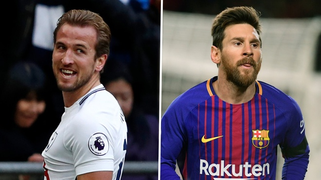 Harry Kane muon ghi ban nhieu hon Leo Messi anh 1