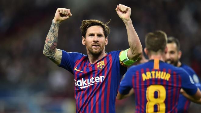 Messi duoc tung ho sau chien thang cua Barcelona hinh anh 2