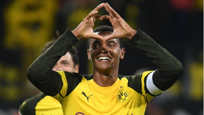 Sao tre Dortmund cong khai 'to tinh' voi MU hinh anh