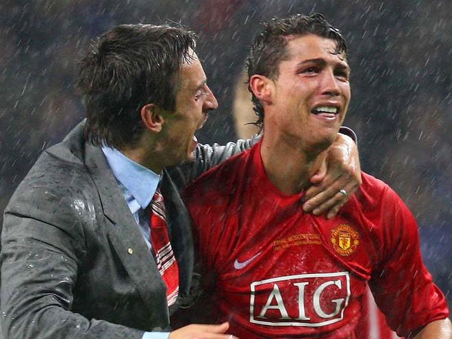 10 khoanh khac dep nhat cua Ronaldo khi khoac ao MU hinh anh 7