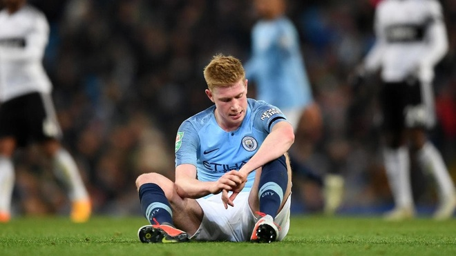 De Bruyne nghi 1 thang, lo tran derby thanh Manchester hinh anh 1