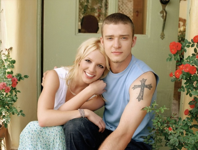 Timberlake han Britney Spears, trut gian khi viet 'Cry Me a River' hinh anh
