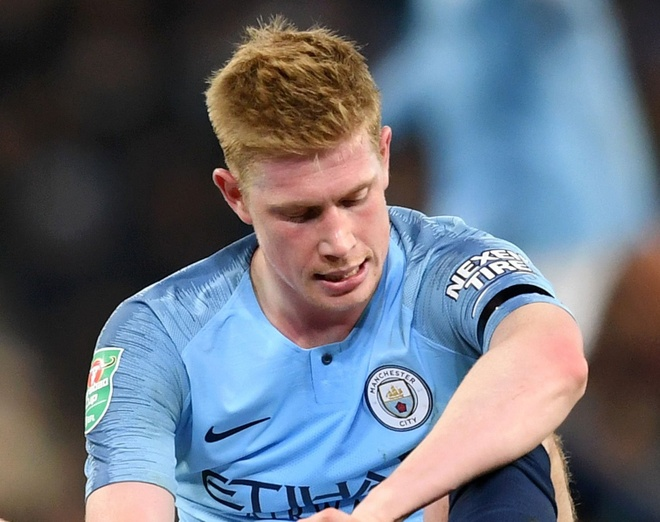De Bruyne nghi 1 thang, lo tran derby thanh Manchester hinh anh