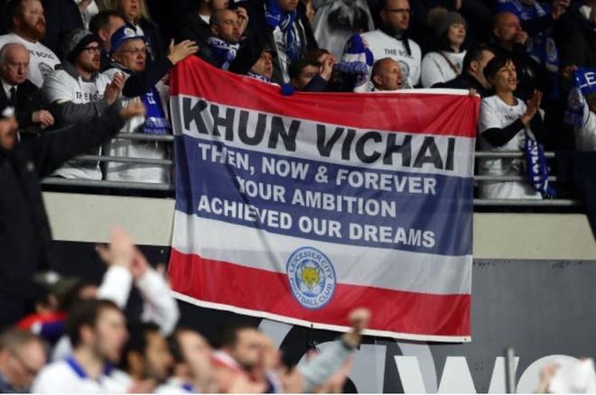 Leicester ha guc Cardiff,  gui chien thang den co Chu tich Vichai anh 10