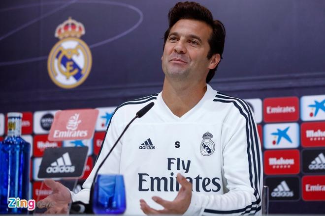 Cau thu Real Madrid muon Solari la HLV chinh thuc hinh anh 2