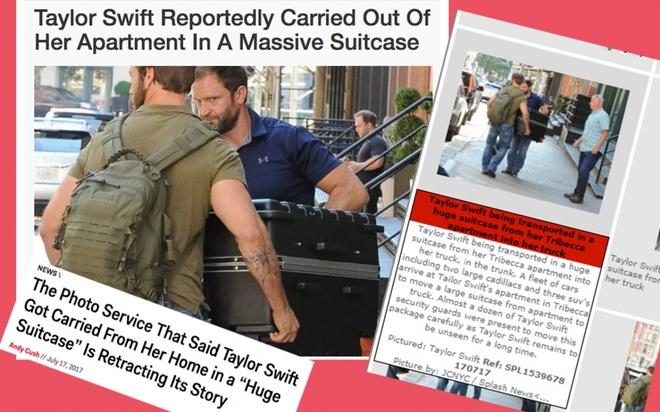Taylor Swift nhieu lan tron vao vali de lan tranh paparazzi hinh anh 1