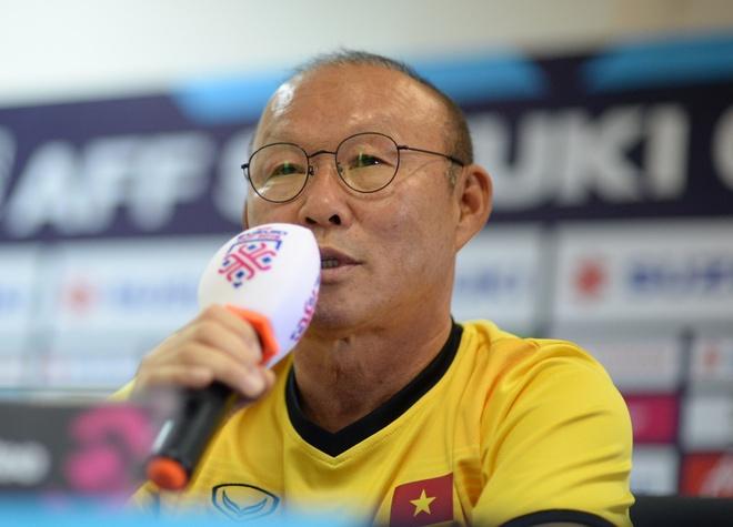 HLV Park Hang-seo thich Messi, goi Viet Nam la doi trong mo hinh anh