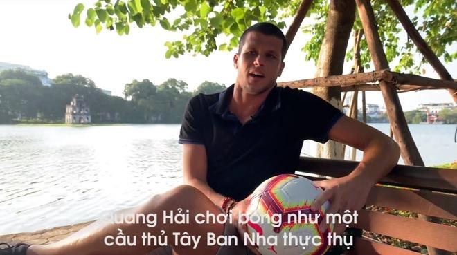Tuyen thu Philippines goi Quang Hai la 'Isco cua Viet Nam' hinh anh 1